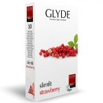 Glyde Slimfit Strawberry 10-pakkaus