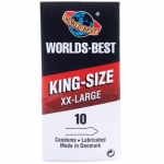 Worlds Best King Size 10-pakkaus