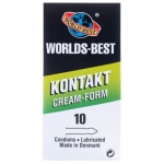 Worlds Best Kontakt Cream Form 10-pakkaus
